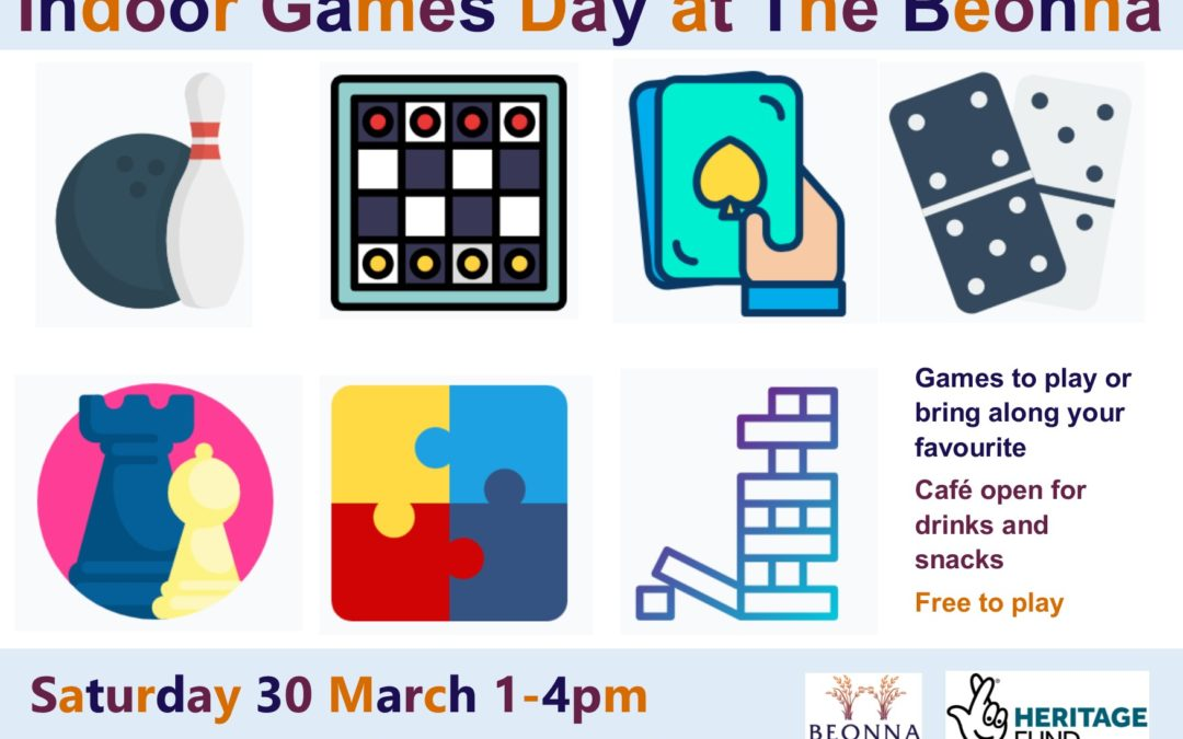 Indoor Games Day at The Beonna