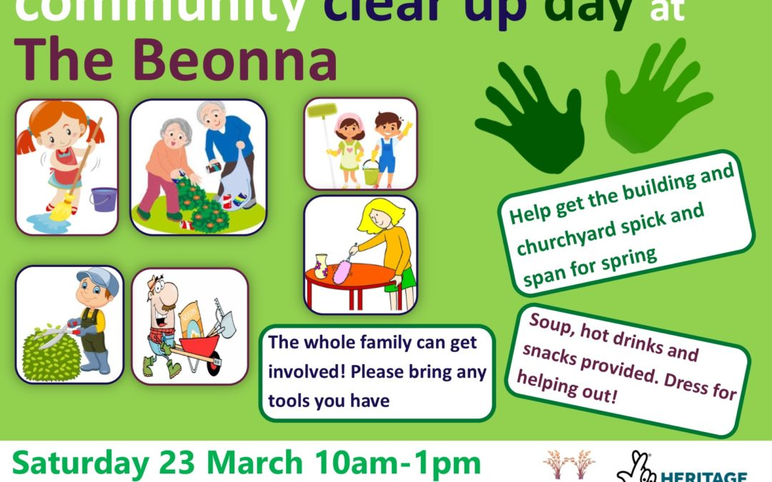 Community Clear Up Day at The Beonna