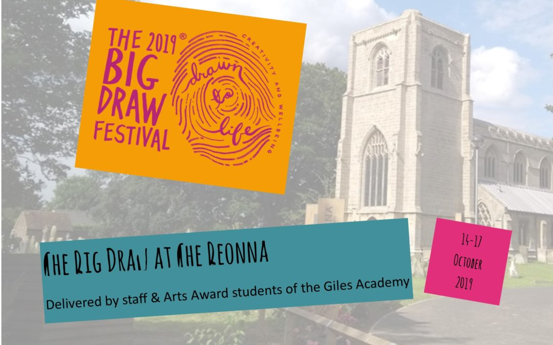The Big Draw at The Beonna… part of the world's biggest drawing festival
